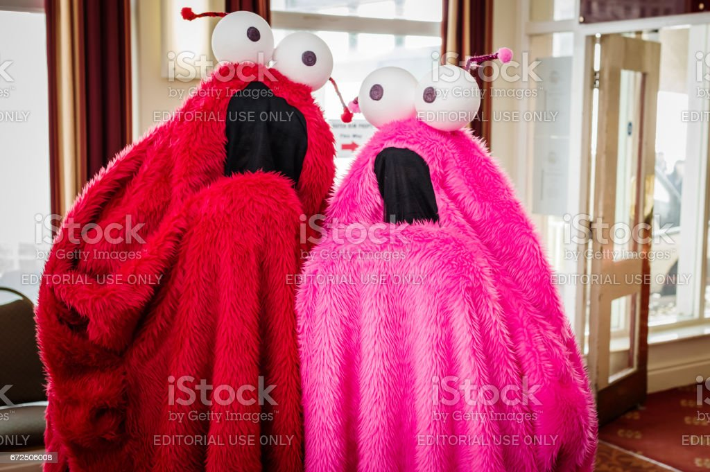 'Yip Yips' from Sesame Street stock photo
