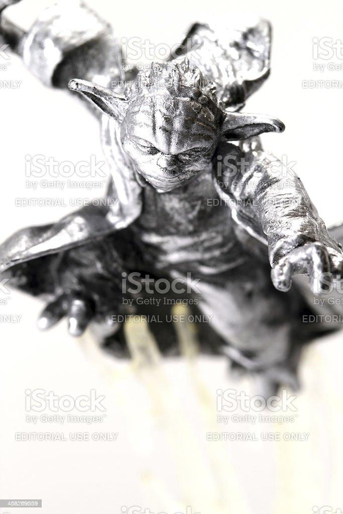 Yoda in Flight royalty-free stock photo