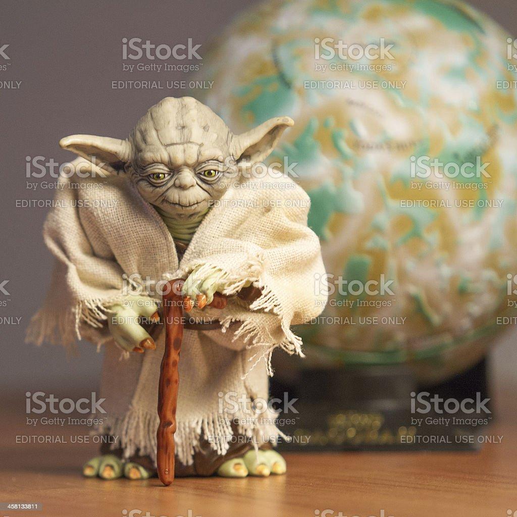 Yoda Master stock photo