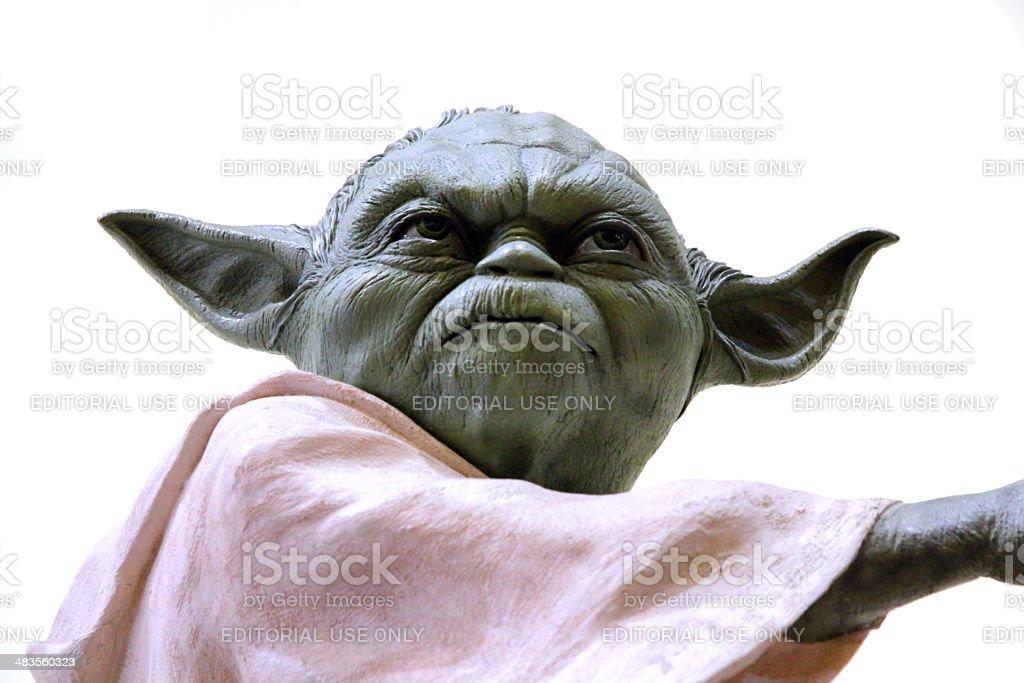 Yoda stock photo