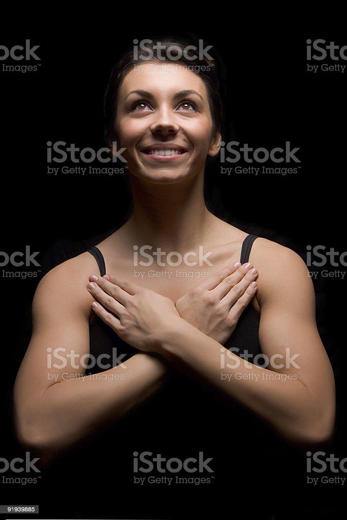 Yoga  2 royalty-free stock photo
