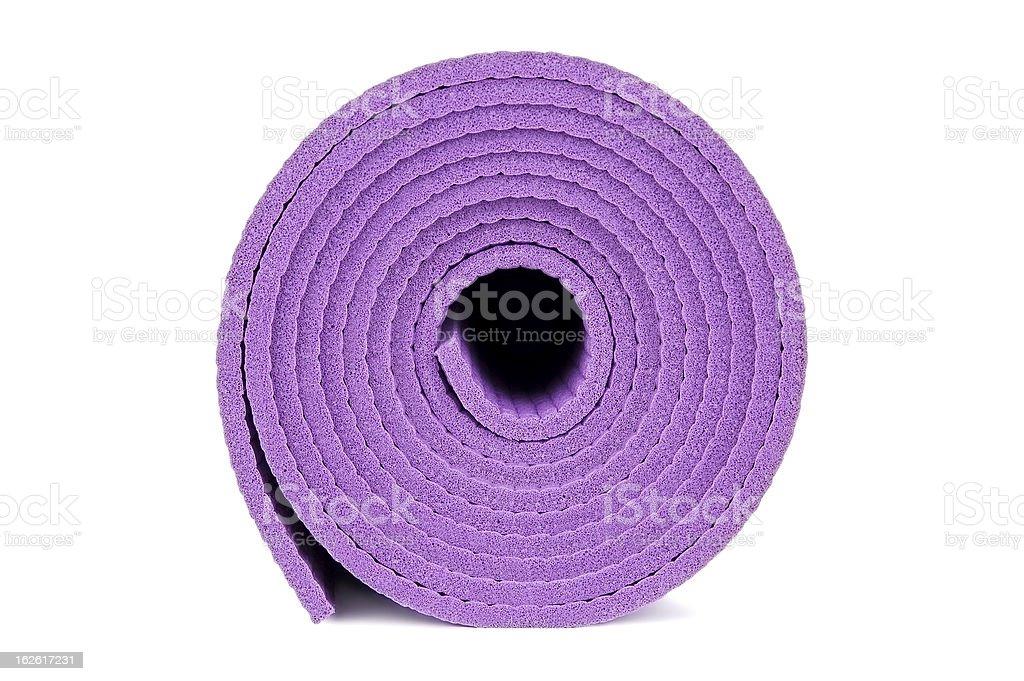 Yoga equipment royalty-free stock photo
