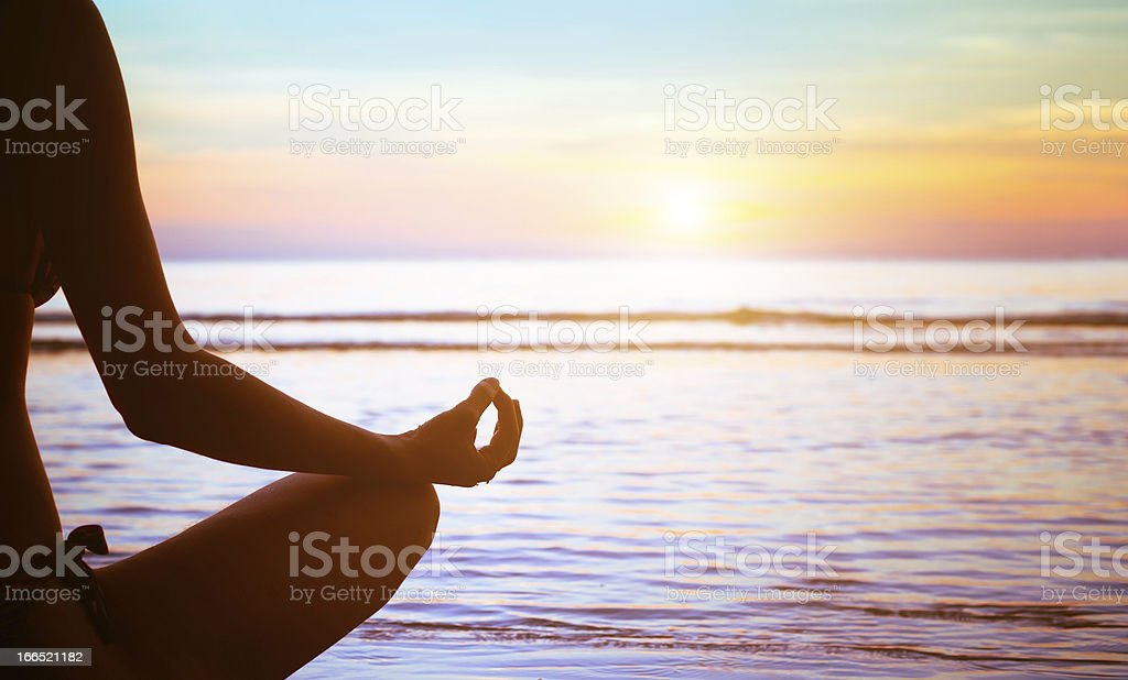 yoga exercise abstract stock photo