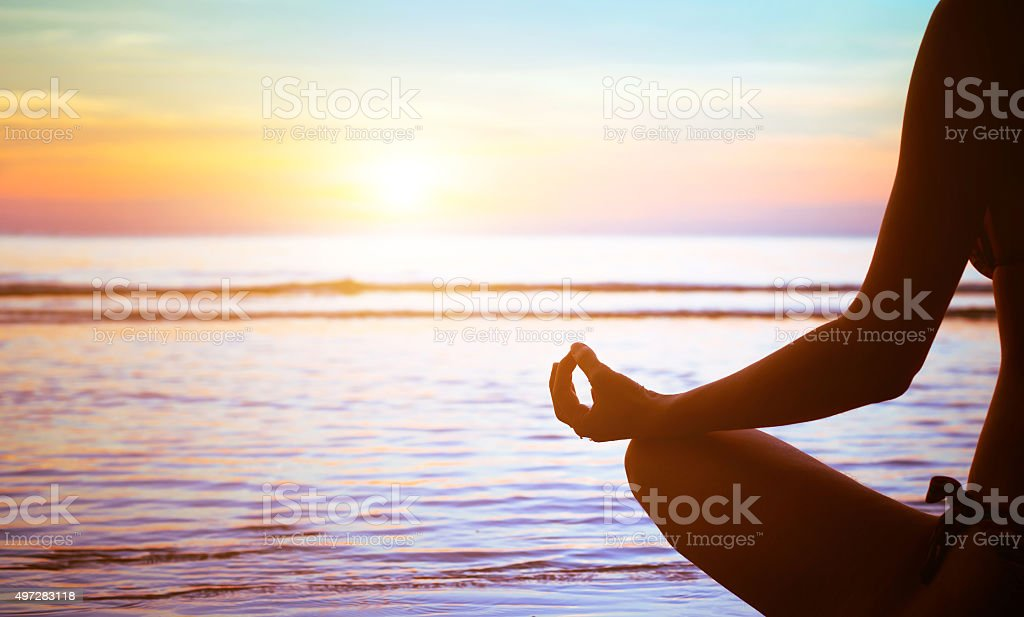 yoga exercise abstract stock photo