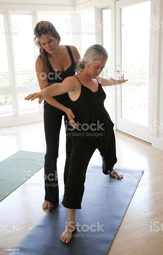 Yoga Instructor stock photo