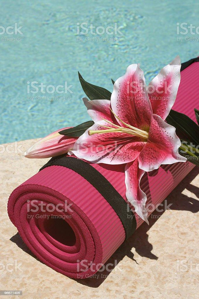 Yoga Mat royalty-free stock photo
