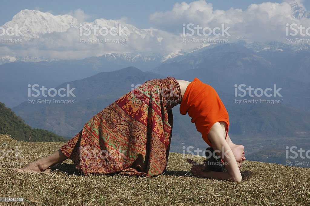 Yoga. royalty-free stock photo