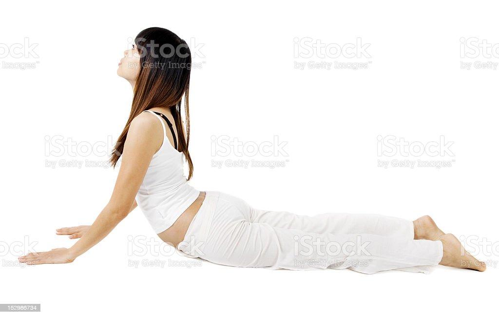 Yoga royalty-free stock photo