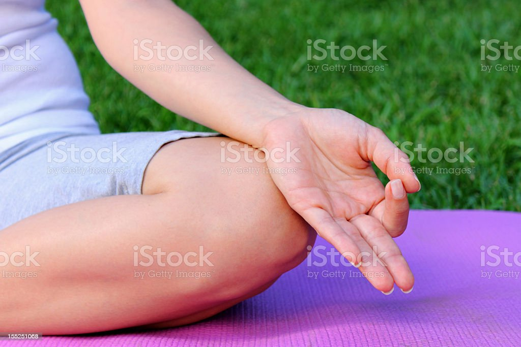 yoga stock photo