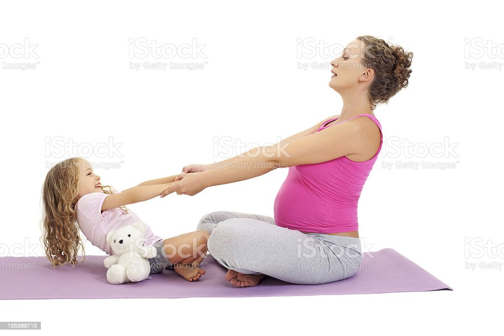 Yoga royalty-free stock photo