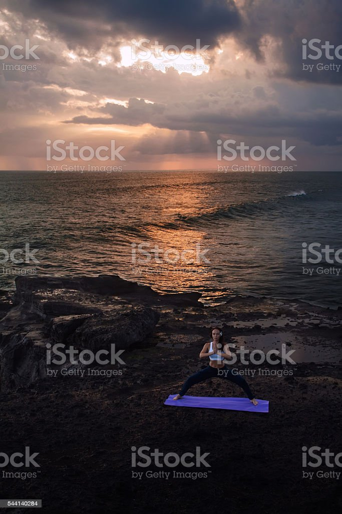 Yoga stock photo