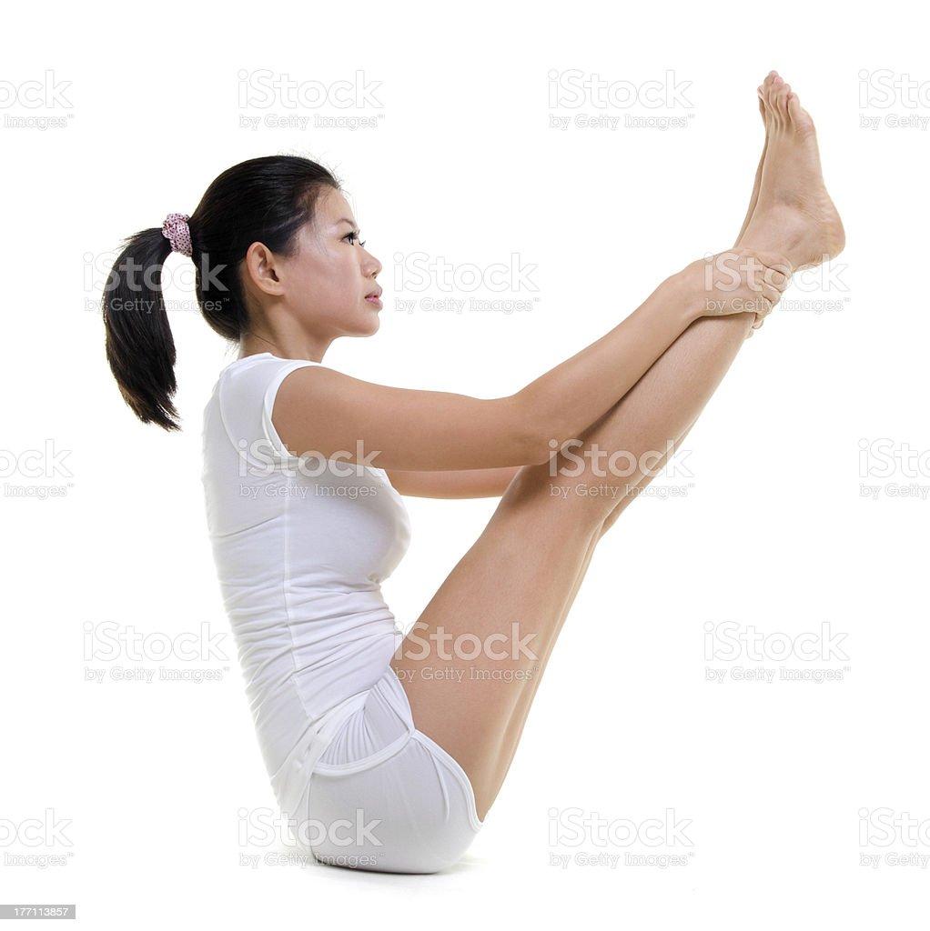 Yoga Posture royalty-free stock photo