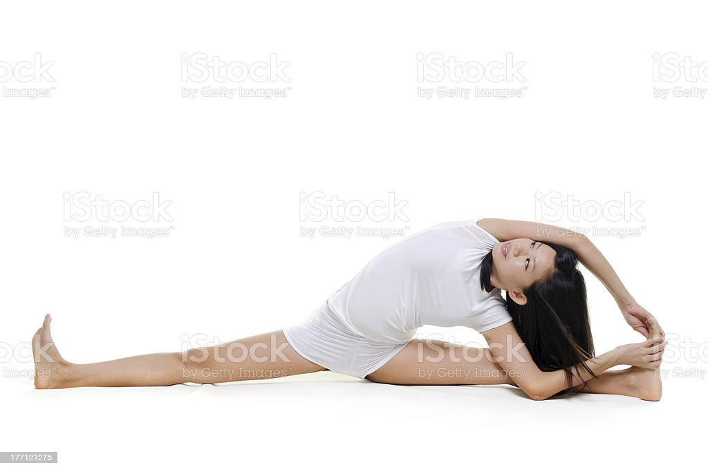 Yoga Posture royalty-free stock photo