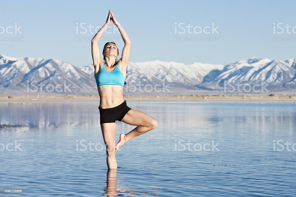 Yoga Serenity royalty-free stock photo