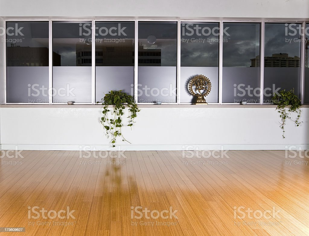 Yoga studio royalty-free stock photo