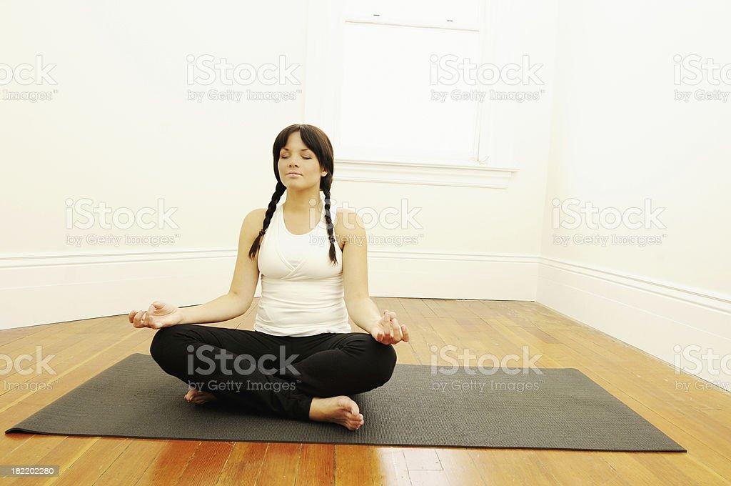 Yoga Studio series royalty-free stock photo