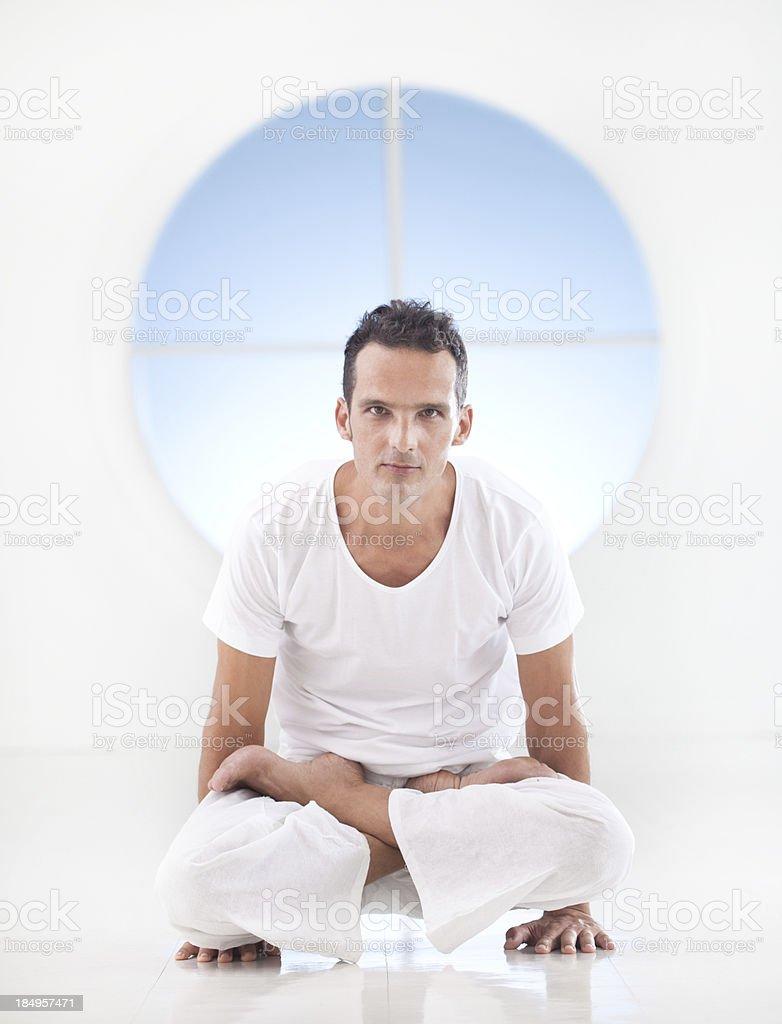 Yoga: Utpluthih stock photo