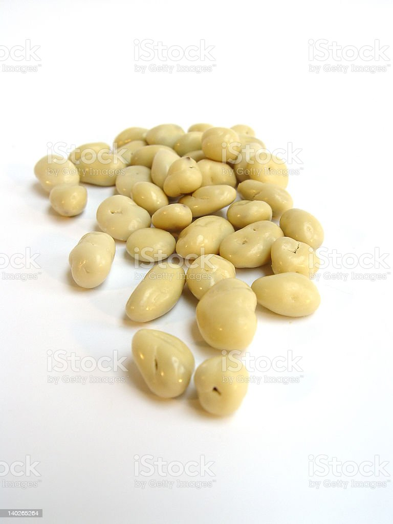 Yoghurt Coated Raisins stock photo
