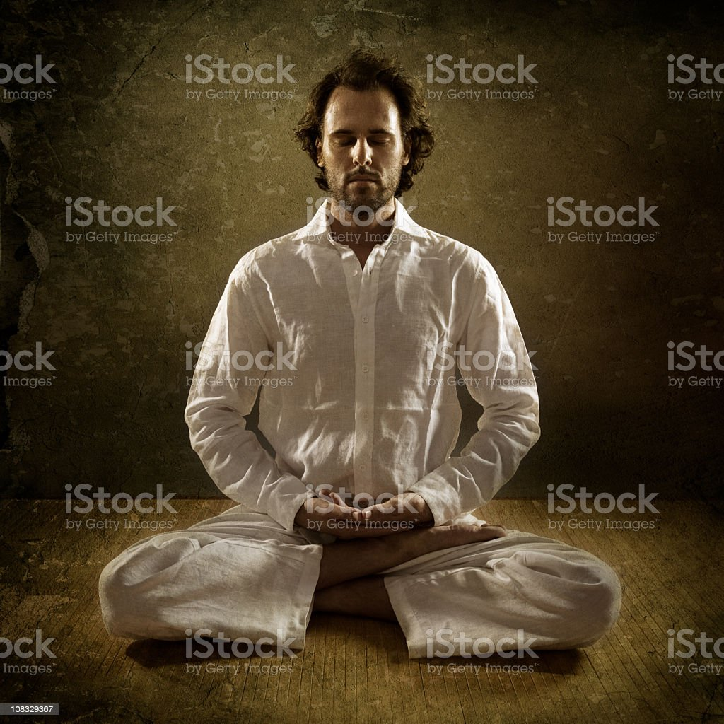 Yogi royalty-free stock photo