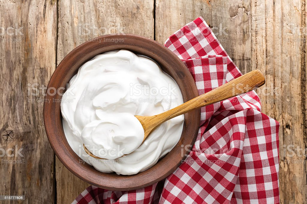 yogurt stock photo