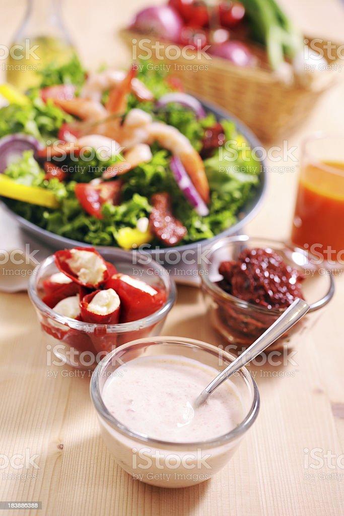 Yogurt Salad Dressing stock photo