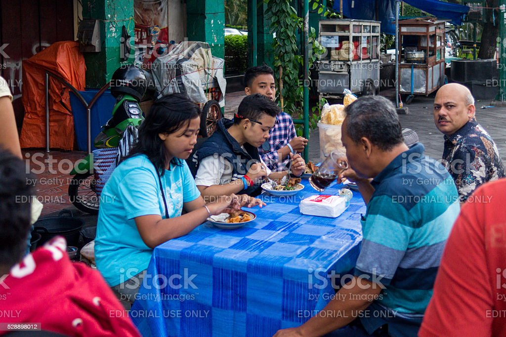 Yogyakarta Indonesia Street Food stock photo