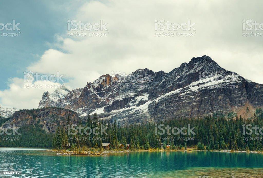 Yoho National Park panorama stock photo