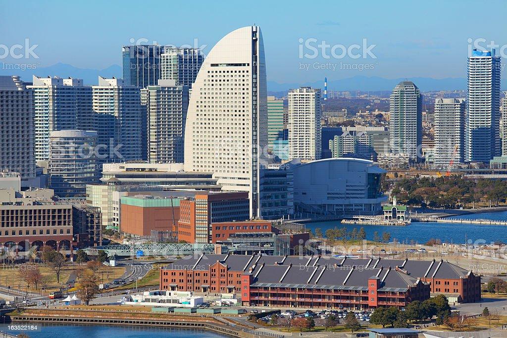 Yokohama city royalty-free stock photo