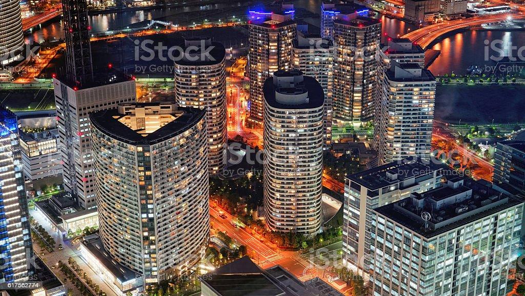 Yokohama City stock photo