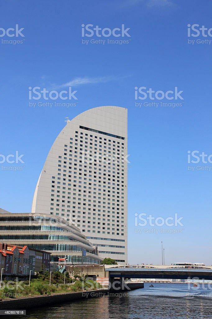 Yokohama Grand InterContinental Hotel stock photo