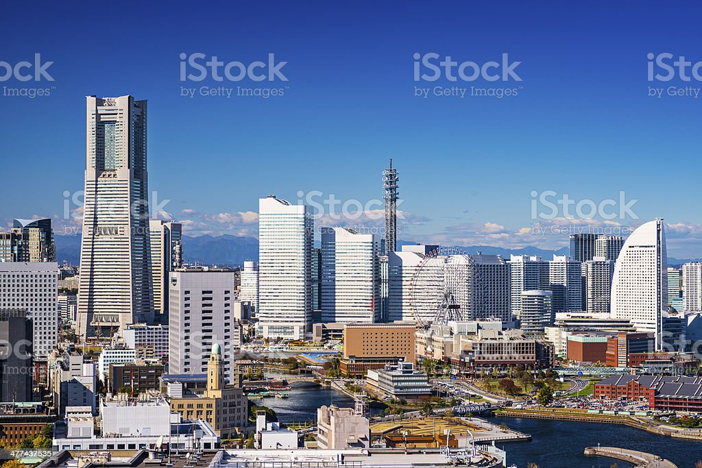 Yokohama, Japan stock photo