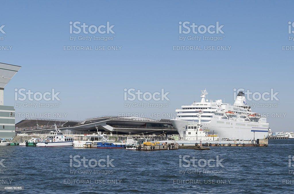 Yokohama Osanbashi Pier royalty-free stock photo