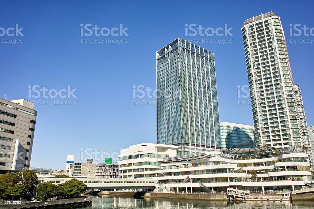 Yokohama Station east side royalty-free stock photo
