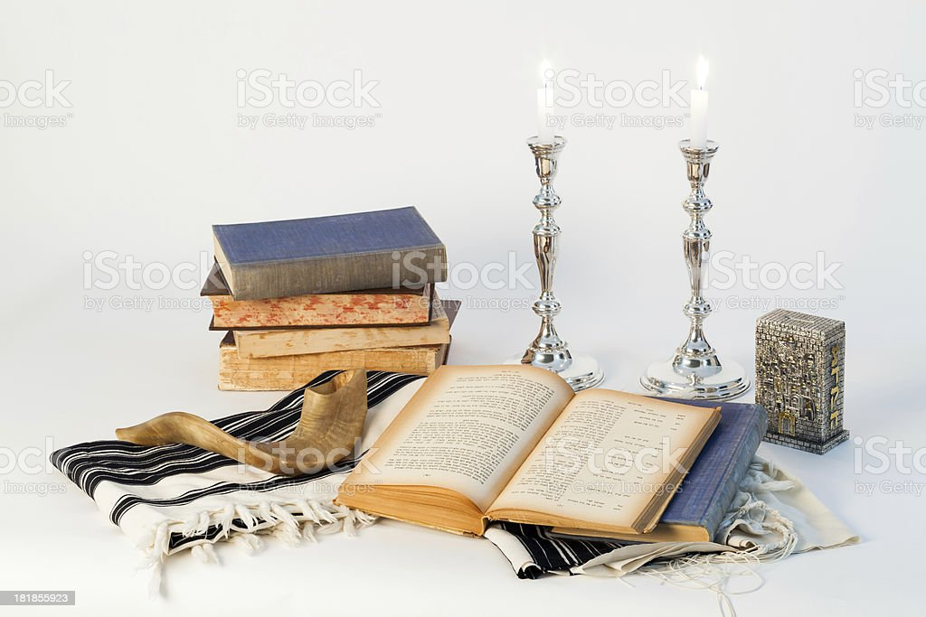 Yom Kippur stock photo