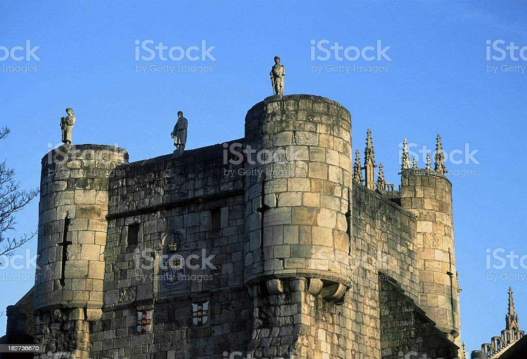 York Castle stock photo