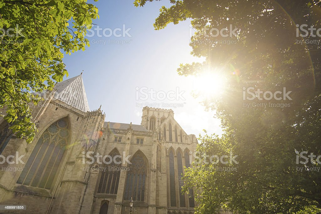 York Church architecture in summer royalty-free stock photo