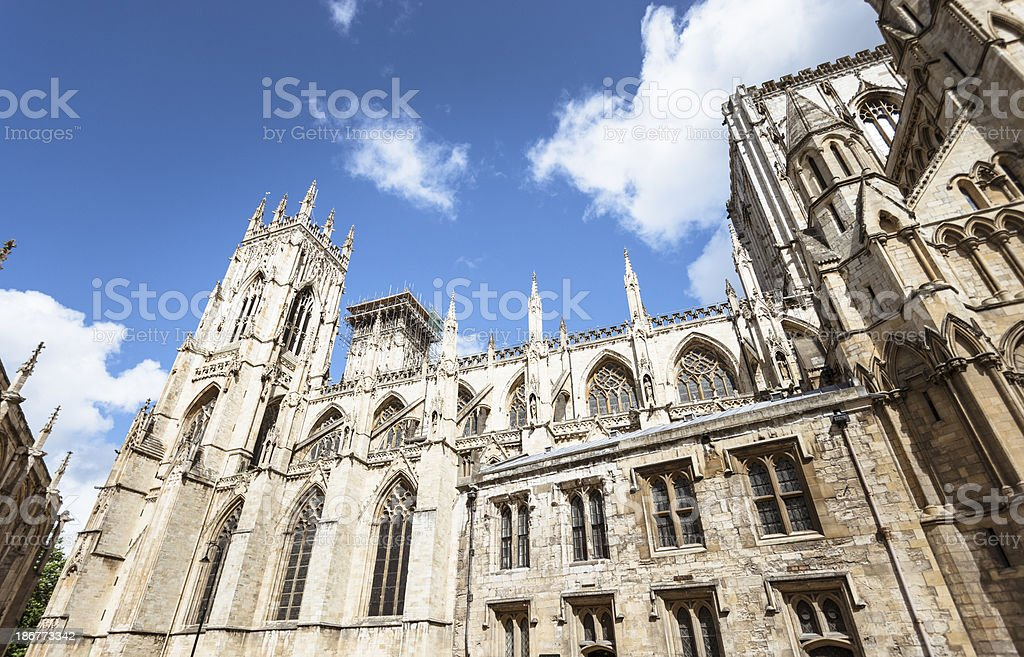 York Church architecture royalty-free stock photo
