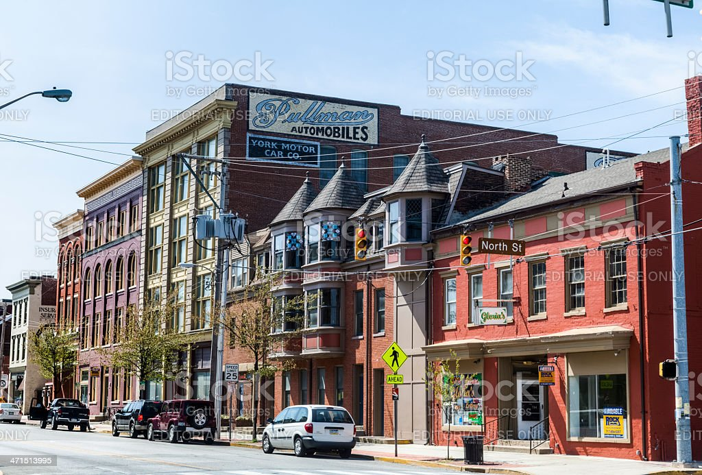 York City Street Scape stock photo