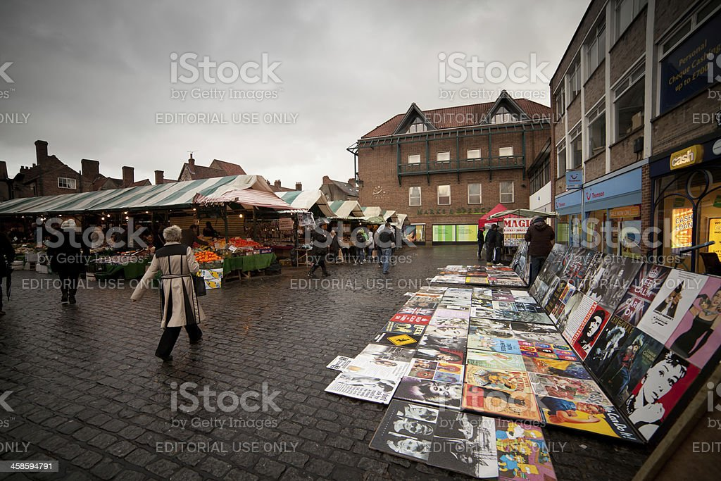 York market stock photo