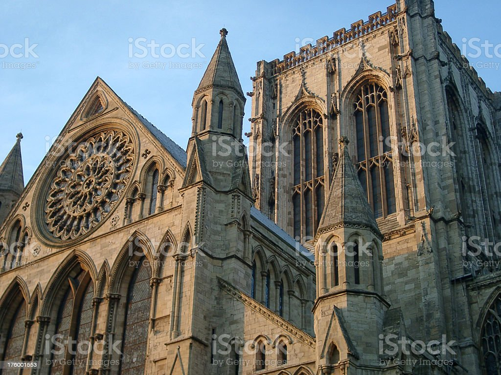 york minster cathedral, England royalty-free stock photo
