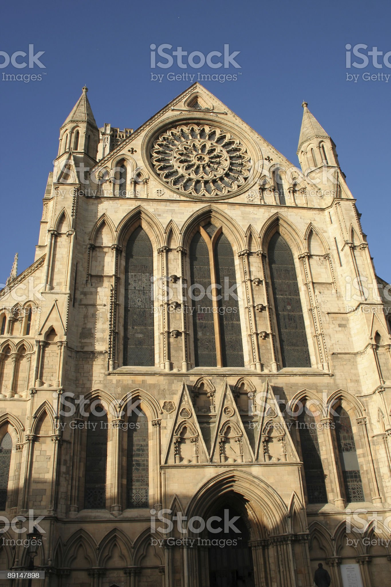 York minster church royalty-free stock photo