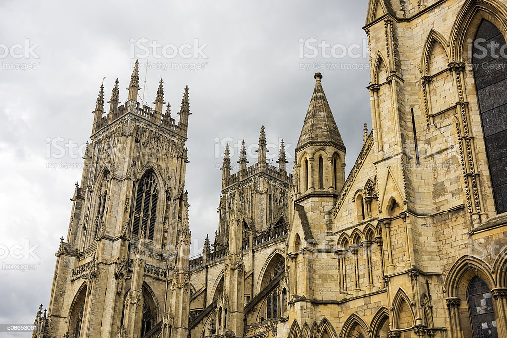 York Minster, England royalty-free stock photo