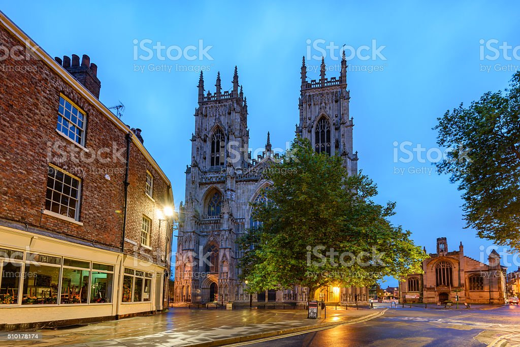 York Minster, England stock photo