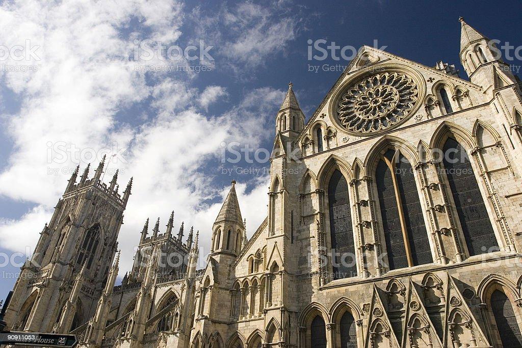 York Minster in daytime stock photo