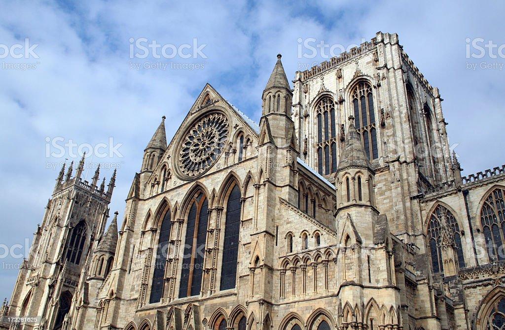 York Minster royalty-free stock photo