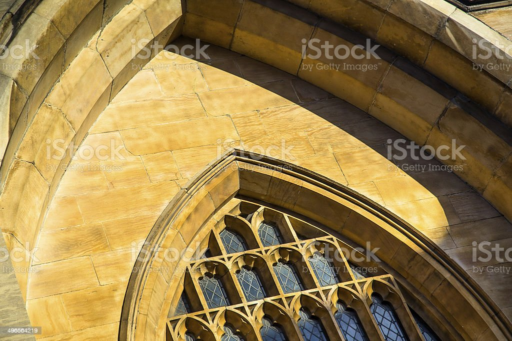 York Minster Window Detail stock photo