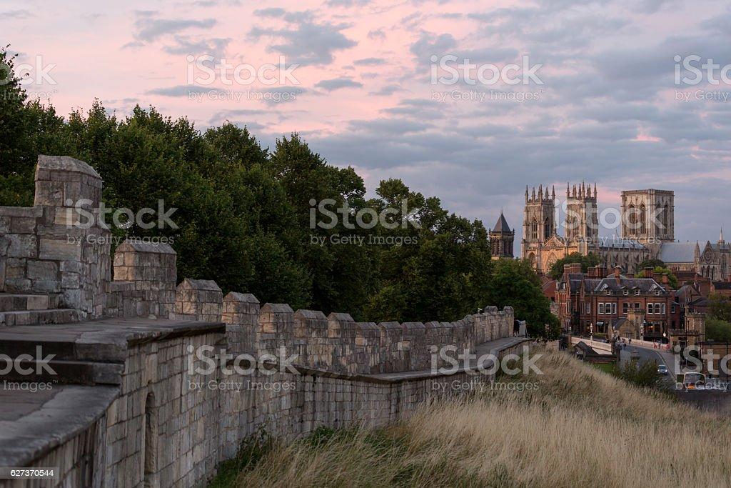 York Minster, York, England, UK stock photo