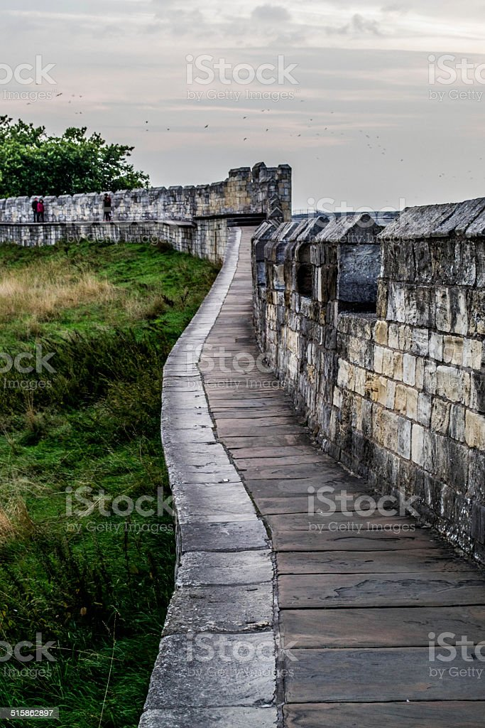 York wall view stock photo