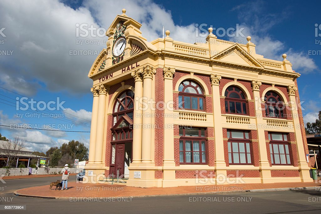 York, Western Australia stock photo