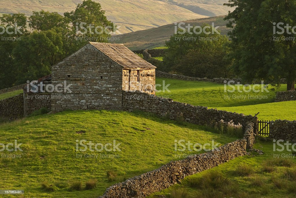 Yorkshire Barn royalty-free stock photo
